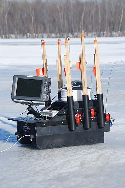 Ice fishing sleds google search dyi ice fishing for Ice fishing sleds