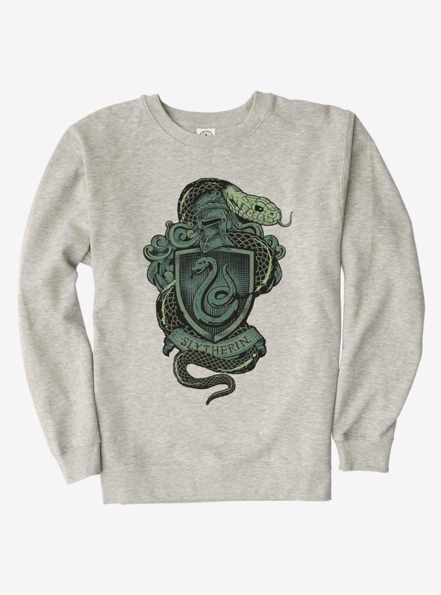 Harry Potter Slytherin Logo Sweatshirt Sweatshirts Slytherin Harry Potter Sweater [ 1200 x 889 Pixel ]