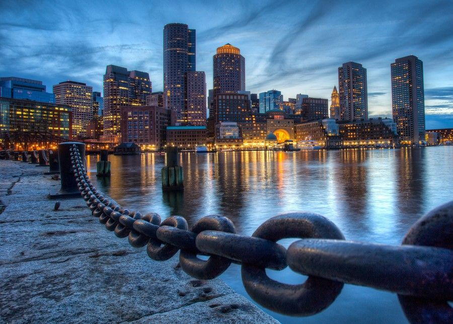 Downtown Boston from Fan Pier by Robbie Shade on 500px