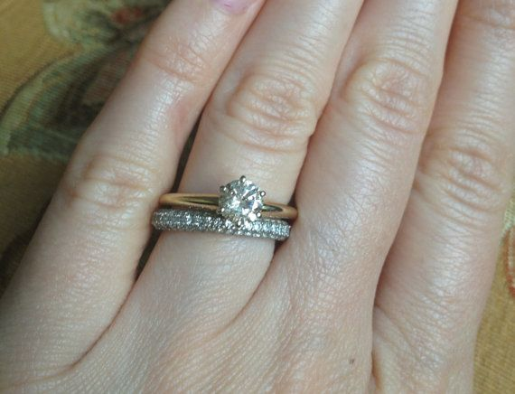 Sale Solitaire 70 Carat Diamond Engagement Ring In 10 Kyg Etsy Round Diamond Engagement Rings Solitaire Engagement Rings Diamond Solitaire Engagement Ring