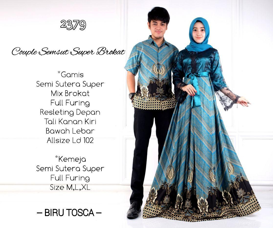 Toko Batik Solo Online Terpercaya Baju Batik Couple Gamis 9
