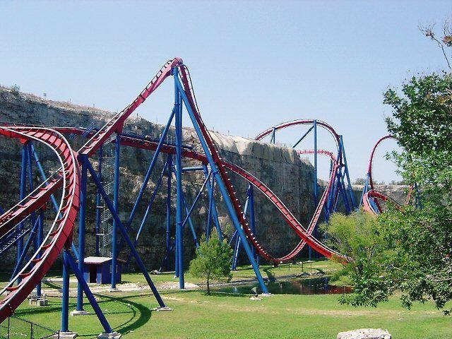Superman Krypton Coaster Six Flags Fiesta Texas Six Flags Fiesta Texas Six Flags Thrill Ride