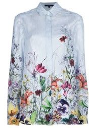 1eac3023a Gucci Floral Print Shirt in Floral | all about fashion... | Gucci ...