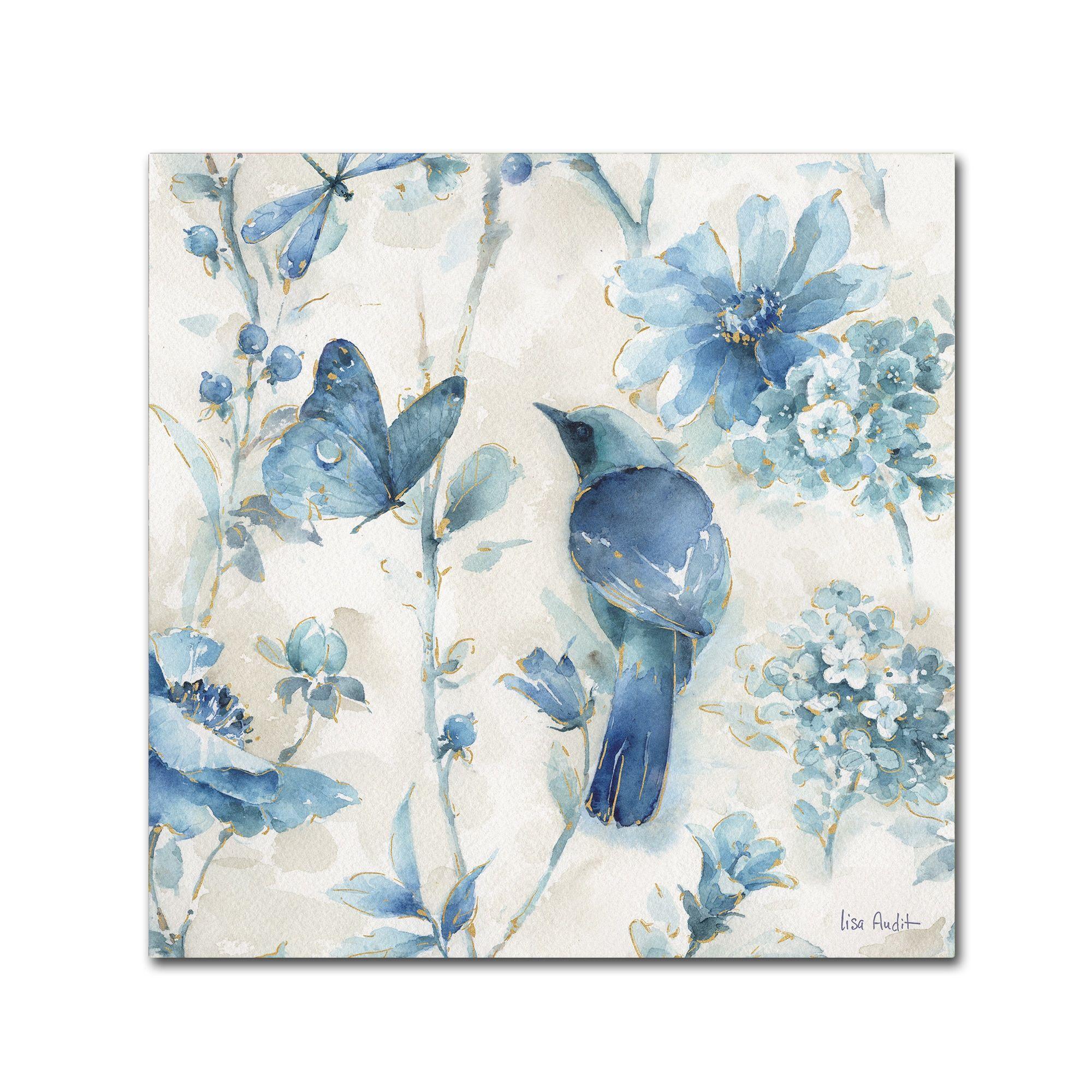 Lisa Audit \'Indigold Xii\' Canvas Art | Products | Pinterest