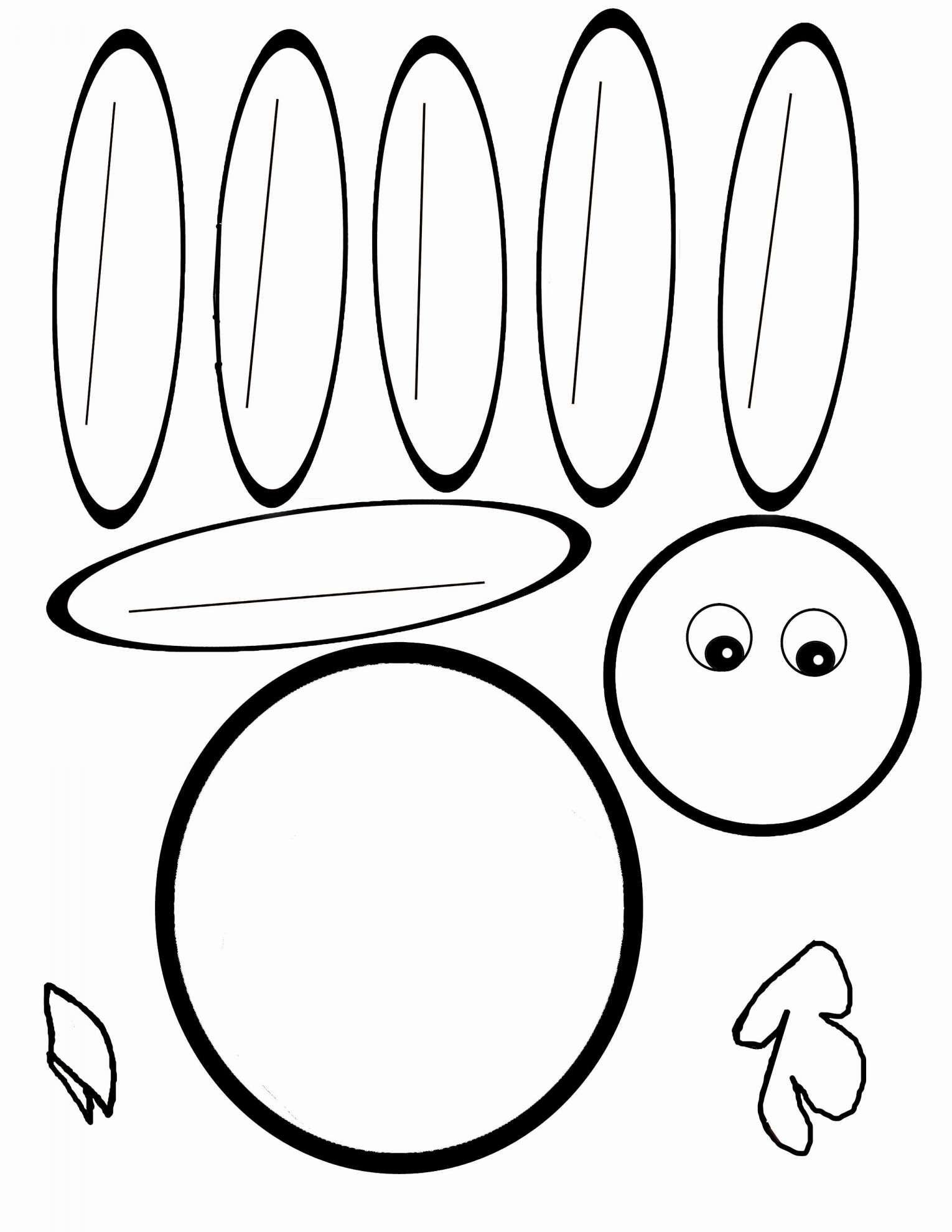 8 Preschool 11 Turkey Worksheet
