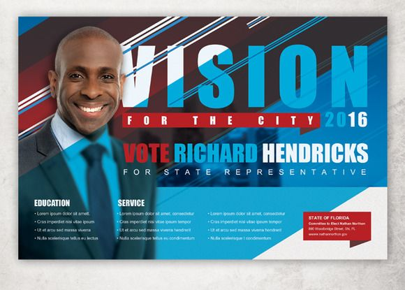 Vision Political Flyer Template | Flyer template