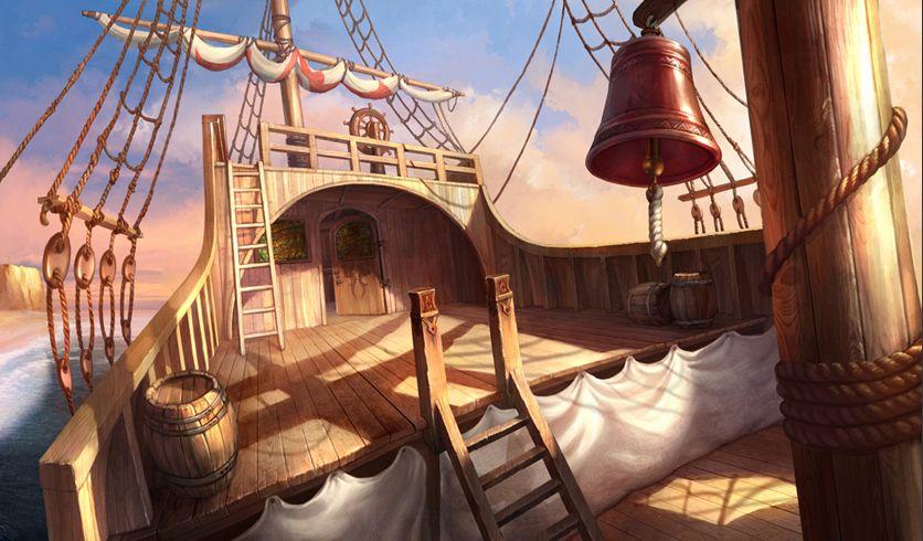 Оформление пиратского корабля картинки