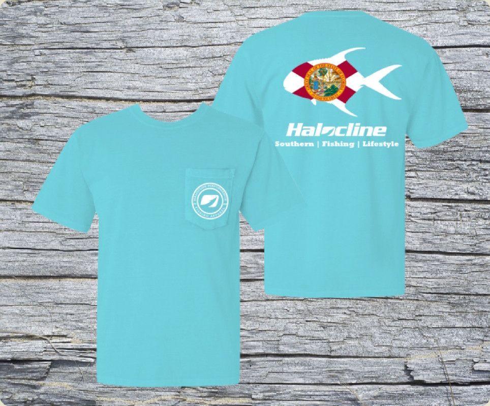 Halocline Florida Permit Pocket T-shirt