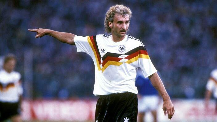 es gibt nur einen Rudi Völler