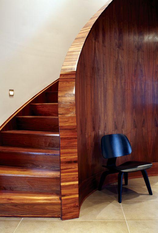 Lighting Basement Washroom Stairs: Decormag - Staircase In Wood - Beautiful