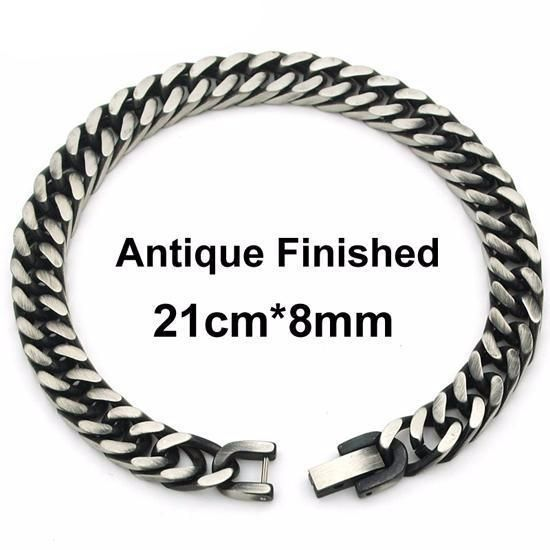 Thick Stainless Steel Chain Men's Bracelet