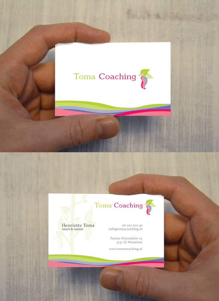 Business cards Toma Coaching   Business card - Designs   Pinterest ...