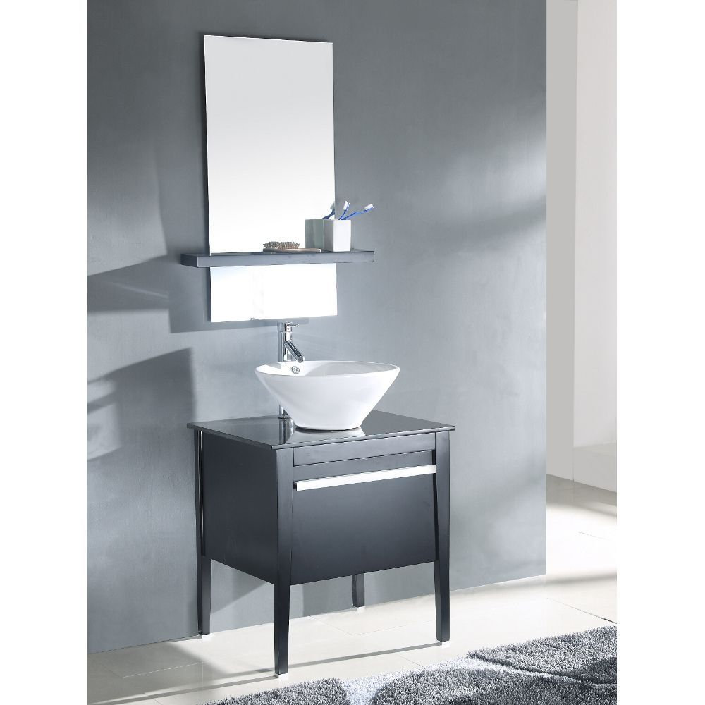 Bring space and function to your bathroom with this single vessel ...