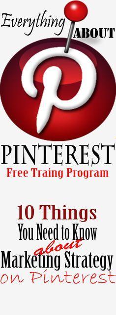 FREE #PINTEREST TRAINING how make money using Pinterest