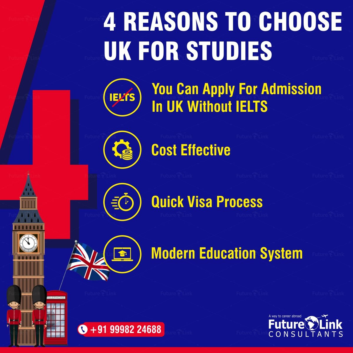 Here's why you should choose UK for further studies! To