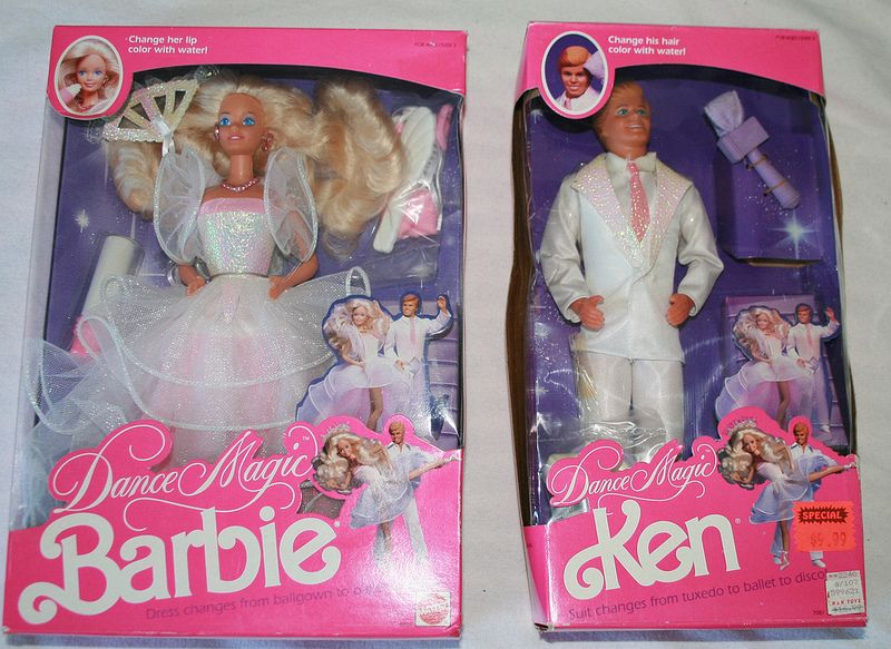 Dance Magic Barbie & Ken 1989