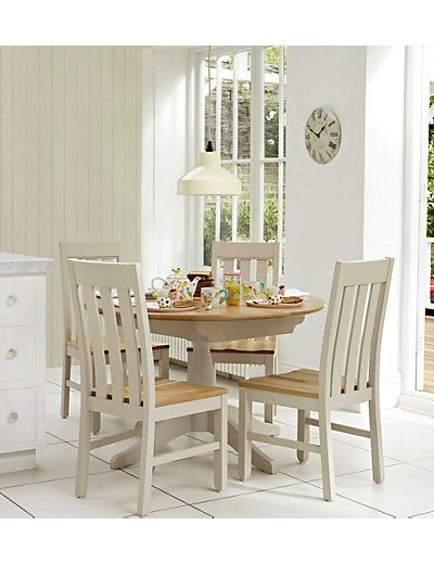 Padstow Extending Round Dining Table  M&s  Apartment Living Enchanting Marks And Spencer Dining Room Furniture Design Ideas