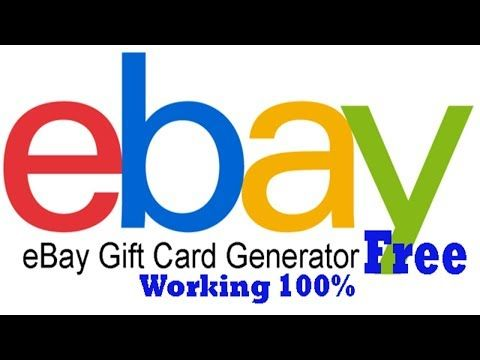 Ebay Free Ebay Gift Card Codes How To Get Ebay Gift Card Codes