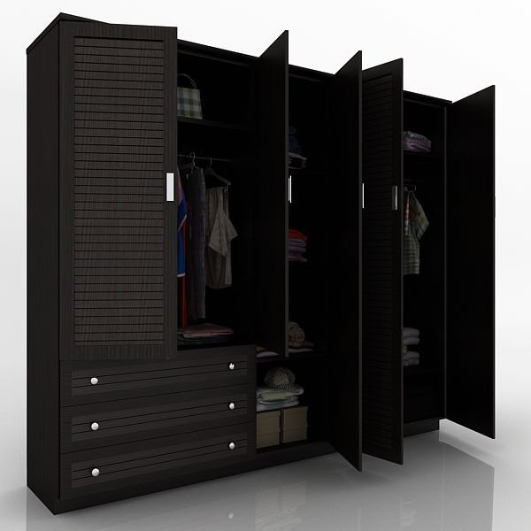 5 Door Designer Wardrobe Online Furniture Almirah