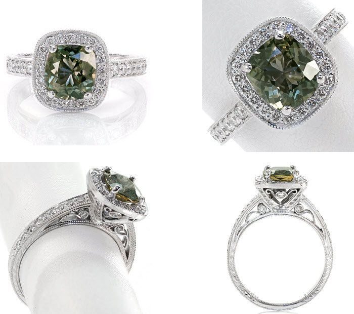 10 Unique engagement rings | Sapphire Engagement Ring | Knox Jewelers | Fab Mood