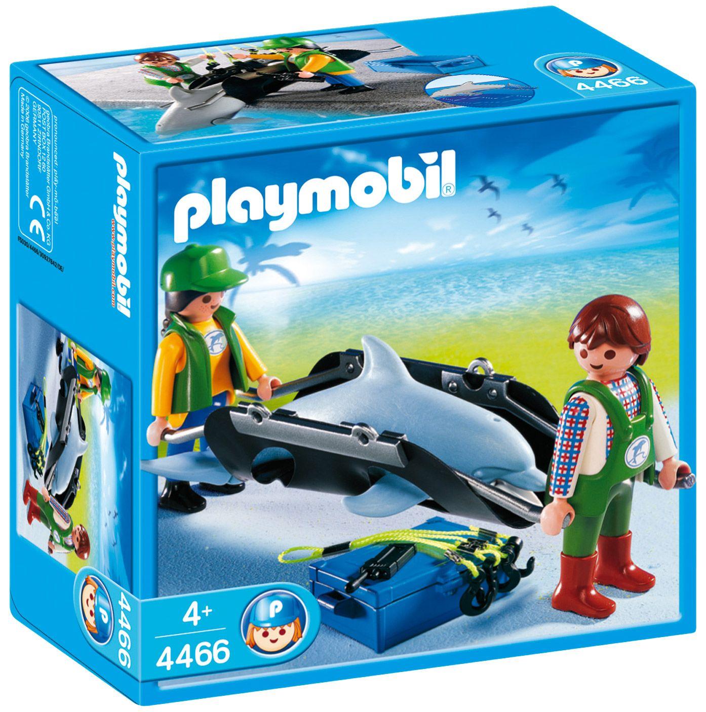 PLAYMOBIL City Life 4466 : Civière avec dauphin