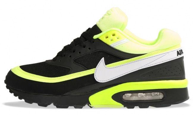 Nike Air Max Classic Bw Black White Volt