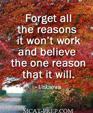 Forget All The Reasons It Won T Work And Believe The One Reason