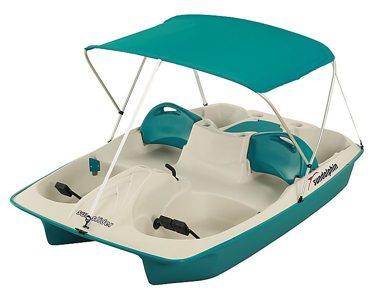Family sun slider pedal boat with canopy bass pro for Fishing pedal boat