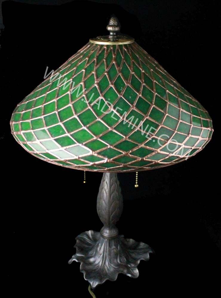 Jade Lamp By Tom Talpey