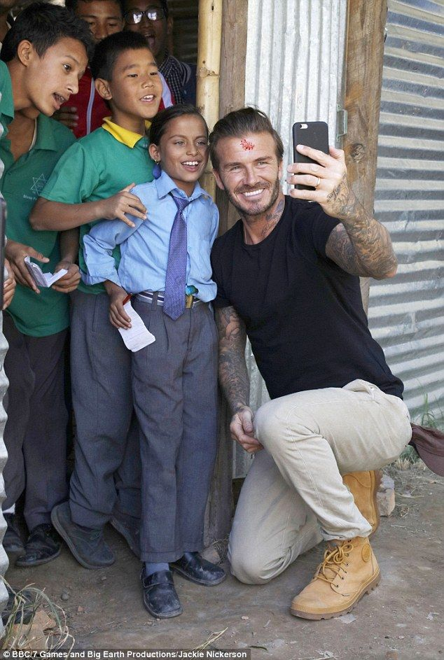 David Beckham Pays Heartbreaking Visit To Refugee Camp In -8420