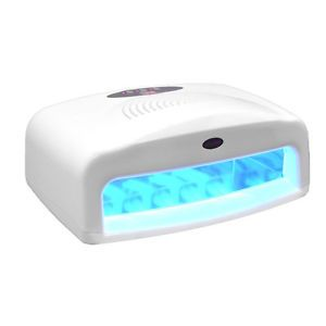Digital 54w Uv Lamp Curing Nail Dryer Timer Acrylic Light Fan Salon 54 Watt Ebay Erin Uv Nail Lamp Gel Nails Salon Supplies
