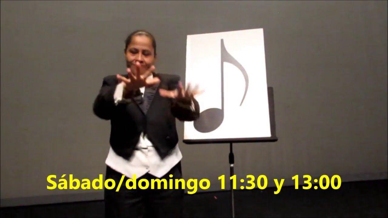 Música para los ojos Teatro Julio Castillo