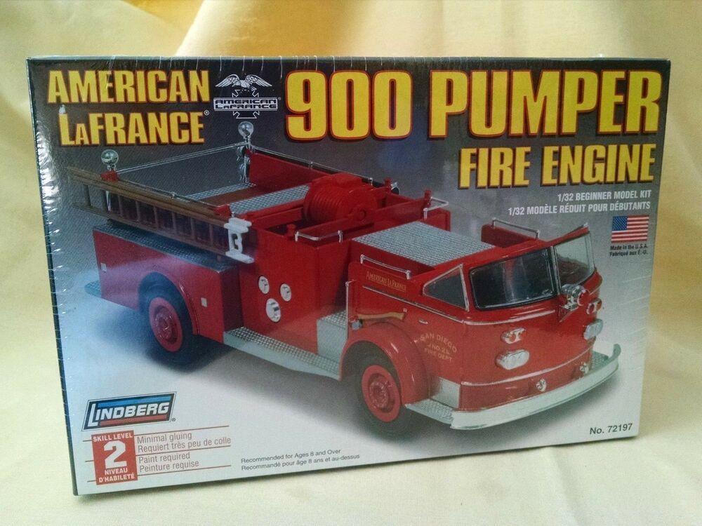 AMERICAN LAFRANCE 900 PUMPER FIRE ENGINE MODEL KIT NEW