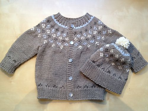 First Snow pattern by Ilga Leja | Drops design, Baby sweater ...