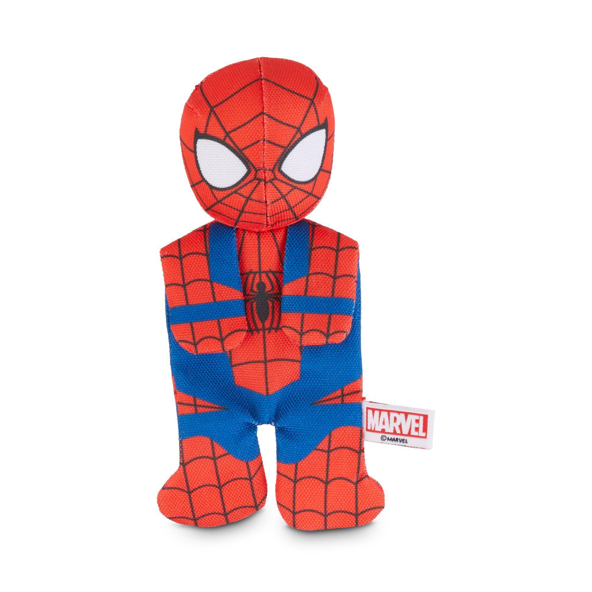 Marvel Spider Man Flattie Dog Toy Small Dog Toys Spiderman