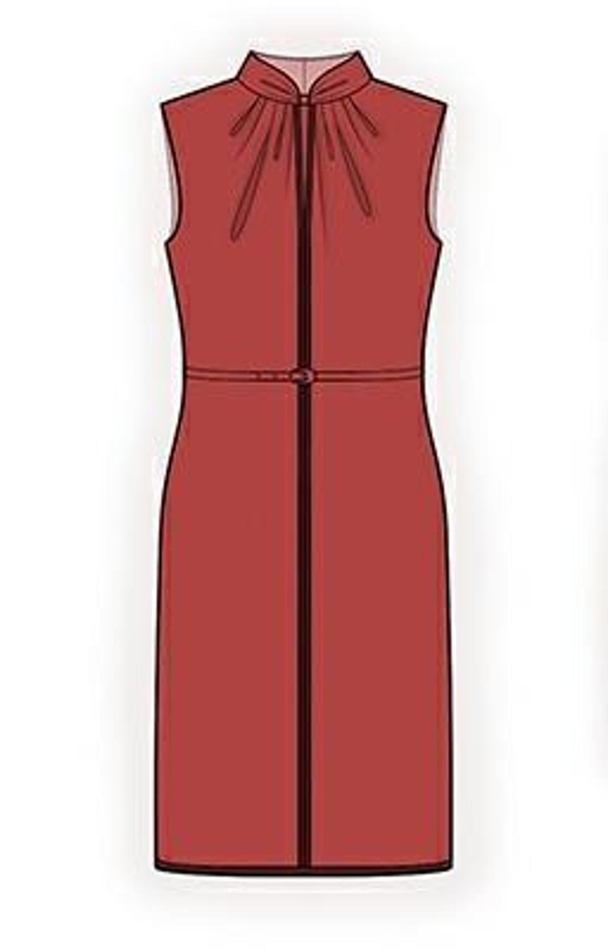 Dress Sewing Pattern 4313 | Craftsy | Fashion illustration