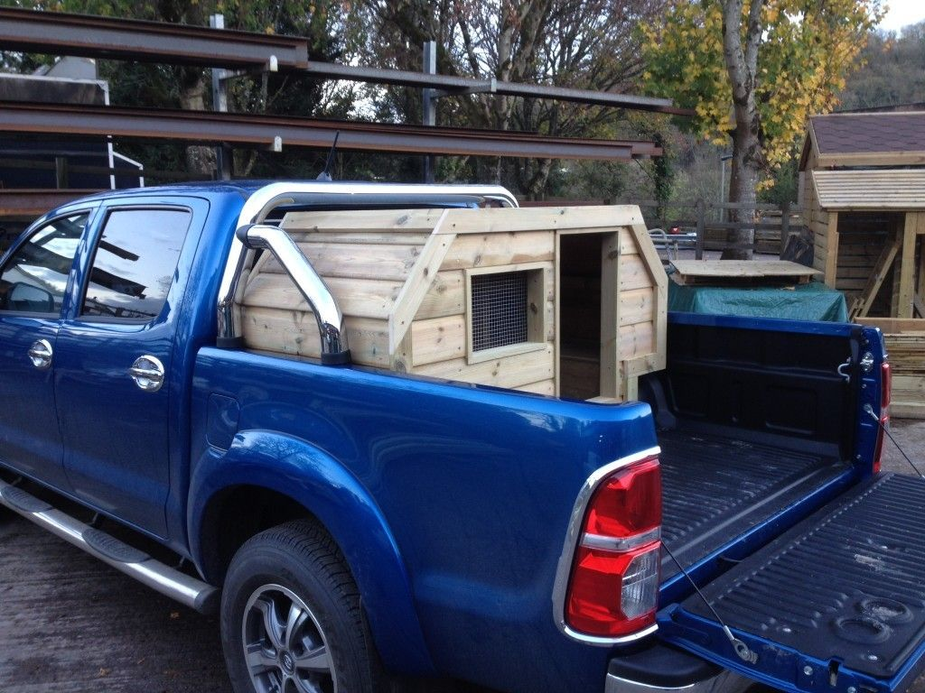 Wooden Truck Bed Dog Crate DIY Truck Bed Dog Crate Dog Bed