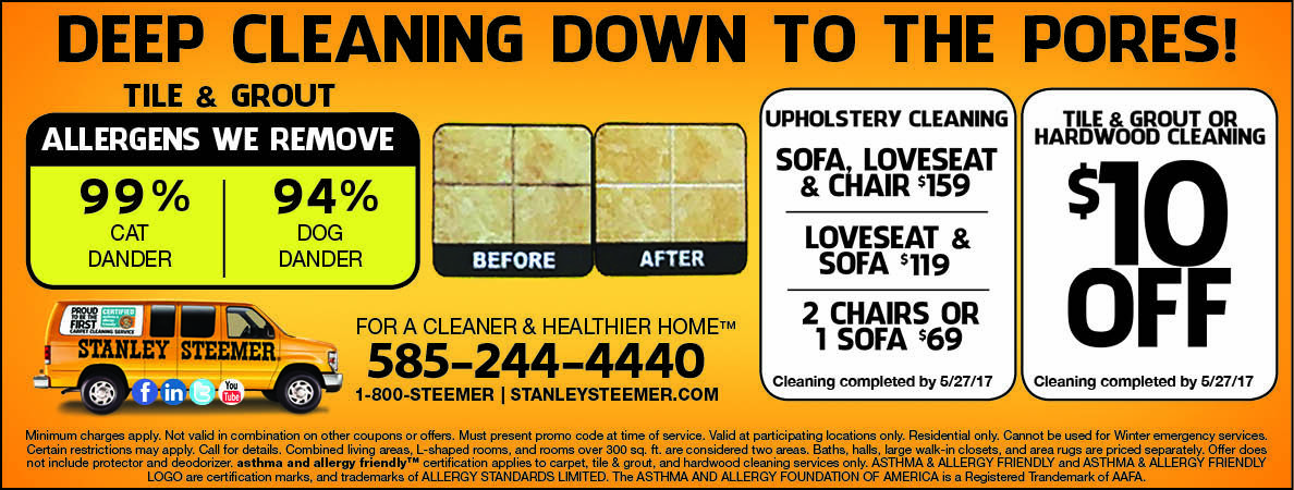 stanley steemer cleaning upholstery