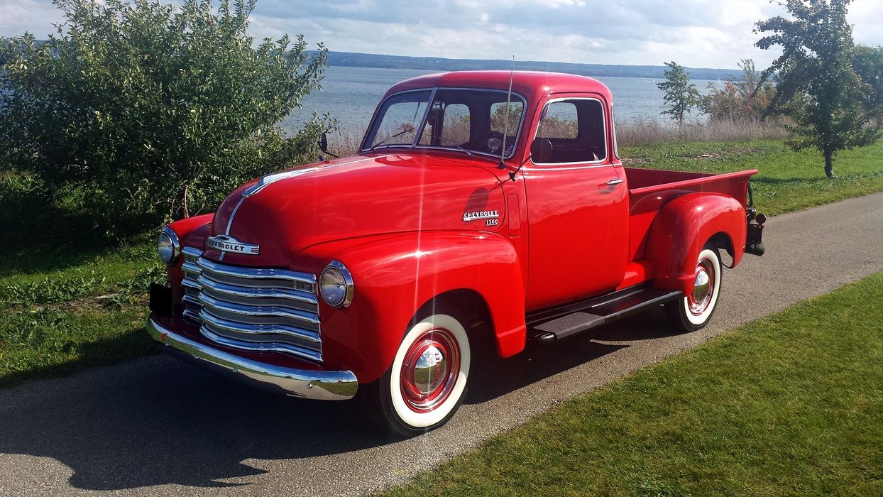 1950 Chevrolet 3100 Deluxe 5 Window | Old Rides 4 | Pinterest ...