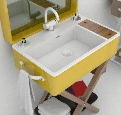 Kleines Bad Ideen Moderne Badezimmer Möbel Waschbecken Kompakt