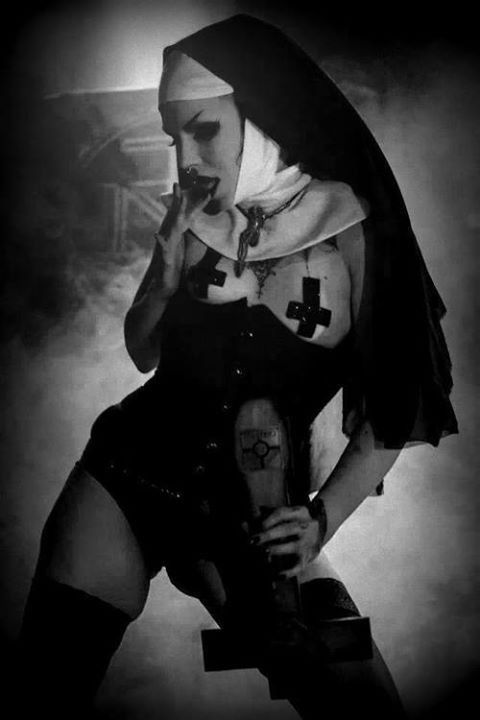 evil nuns Google Search Black Roses