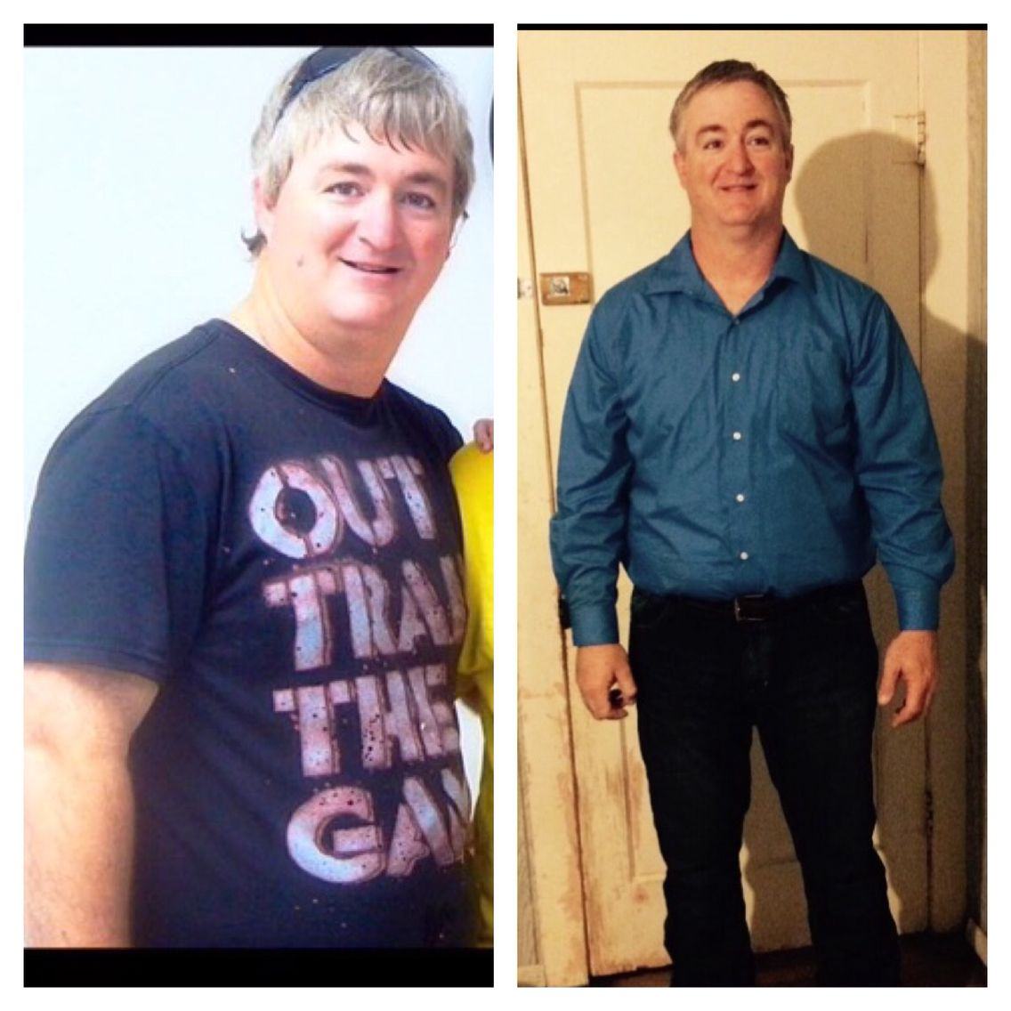 My husband has been on Plexus for three months. He looks great.