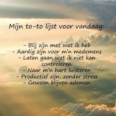 .To Do list for hapiness :-)