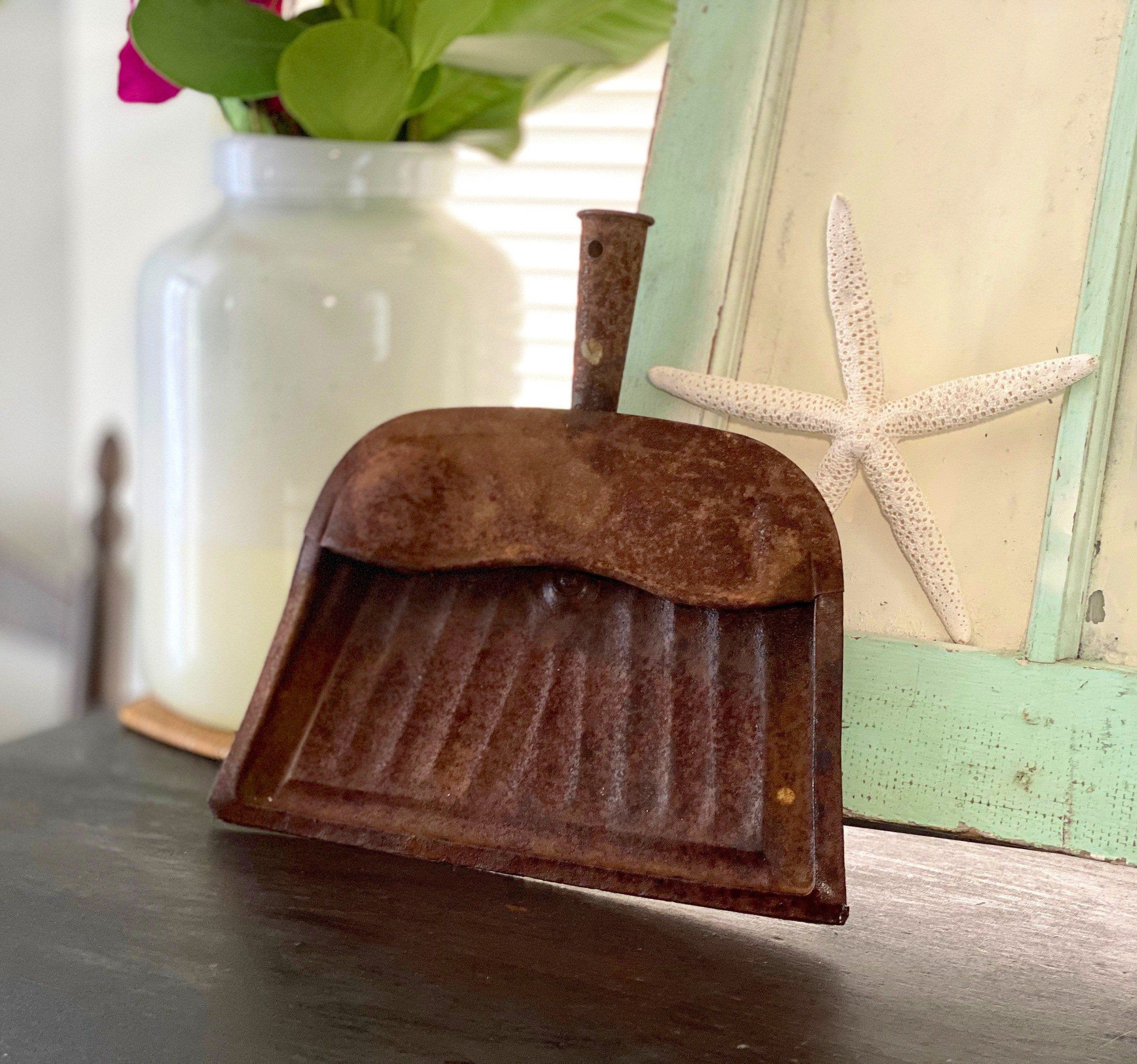 Excited to share this item from my #etsy shop: Vintage Dustpan, Vintage J V Reed Dustpan, Vintage Rustic Home Decor, Retro Home Decor, Southern Decor, Rustic Decor, Vintage Metal Dustpan #vintagehomedecor #rustichomedecor #southernhomedecor #countryhomedecor #reeddustpan #vintagedustpan #vintagecleaning #cleaningsupplies #rustichome