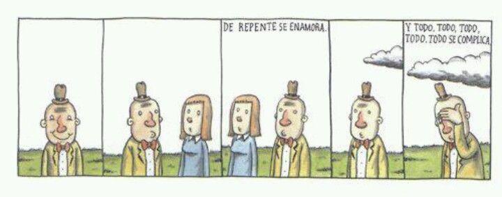 Amores no correspondidos... Liniers, seudónimo de Ricardo
