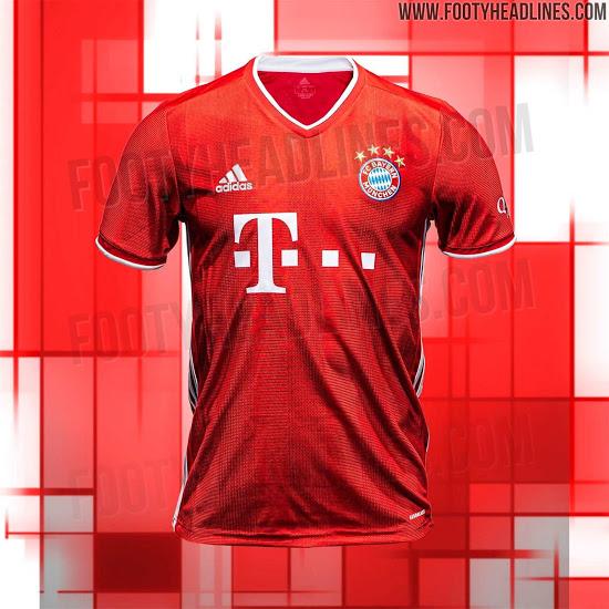Bayern MÜNICH HOME Jersey 2020/21 | Bayern munich, Bayern ...