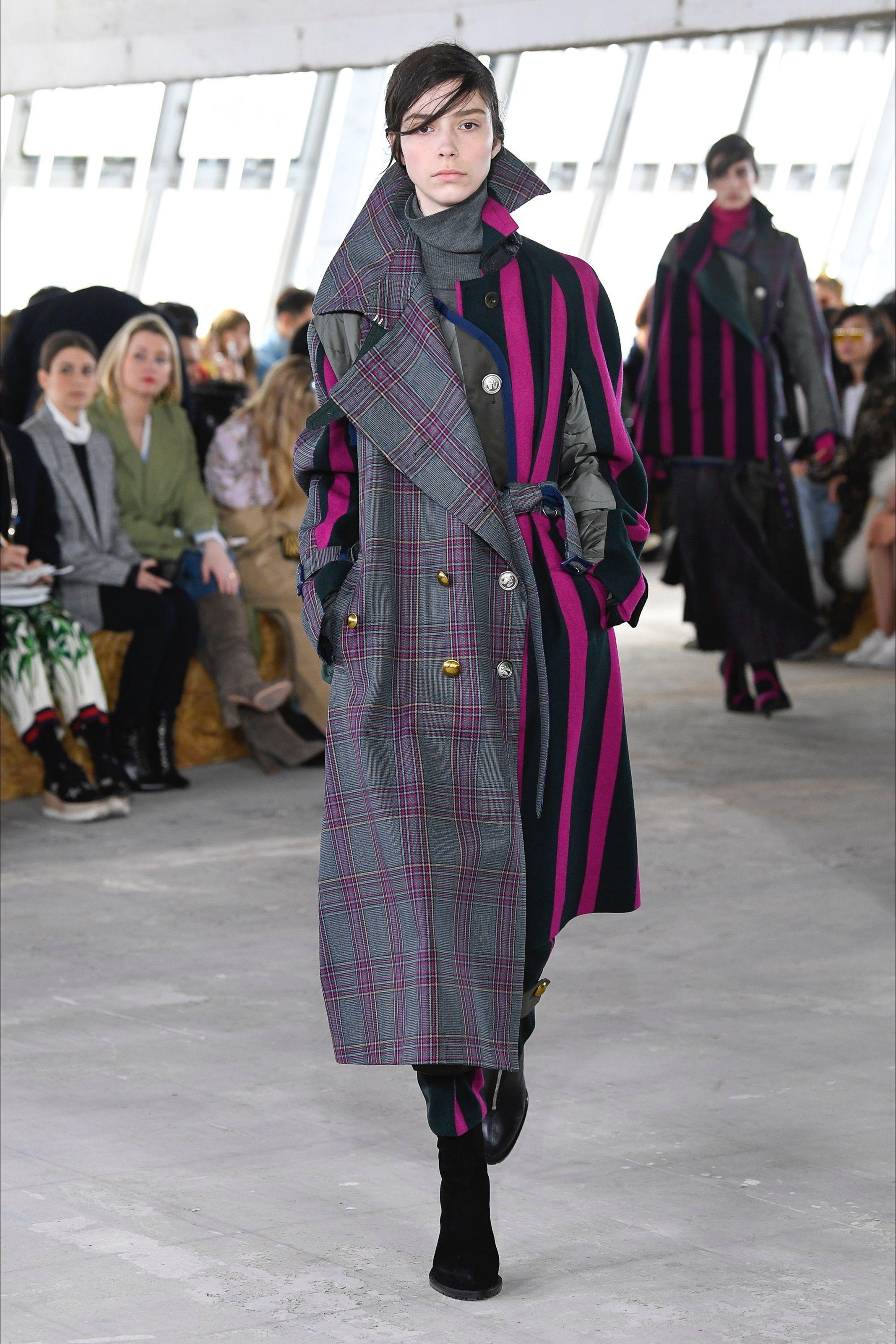 Sfilata Sacai Parigi - Collezioni Autunno Inverno 2018-19 - Vogue ... a69841c5f2d