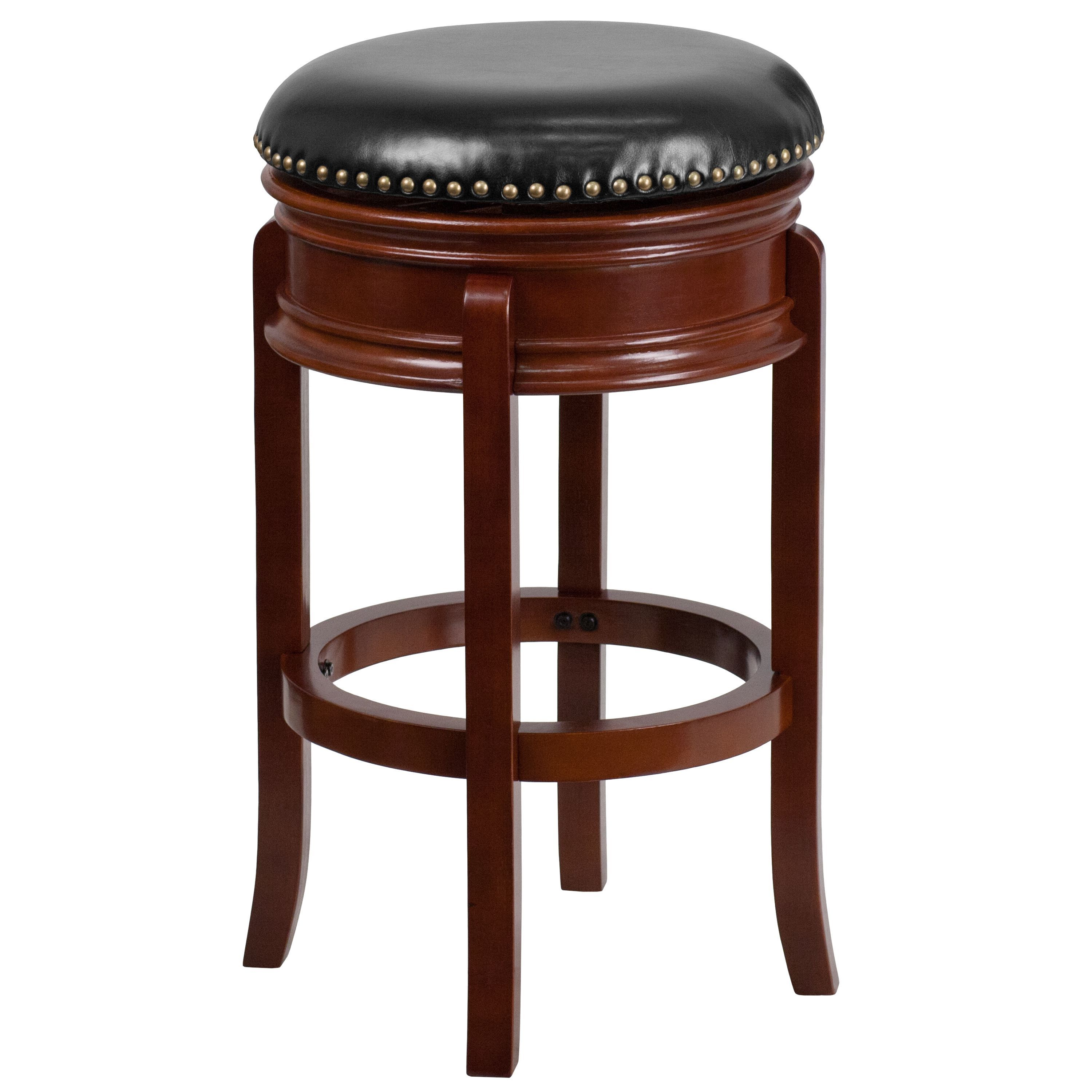 Wondrous Flash Furniture 29 Inch Backless Light Wood Barstool With Squirreltailoven Fun Painted Chair Ideas Images Squirreltailovenorg
