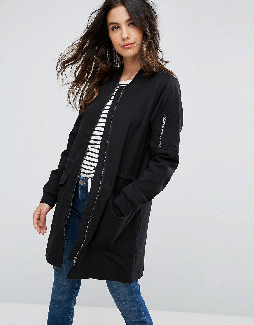 Get This Blend She S Bomber Jacket Now Click For More Details Worldwide Shipping Blend She Carma Longline Bomber Jacket Longline Bomber Bomber Jacket Women [ 1110 x 870 Pixel ]