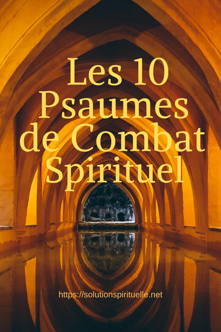 Psaumes De Combat Spirituel Holy Bible Spirituality Bible